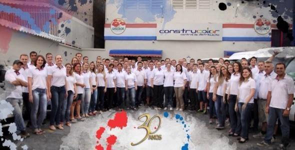 Construcolor comemora 30 anos de atividades