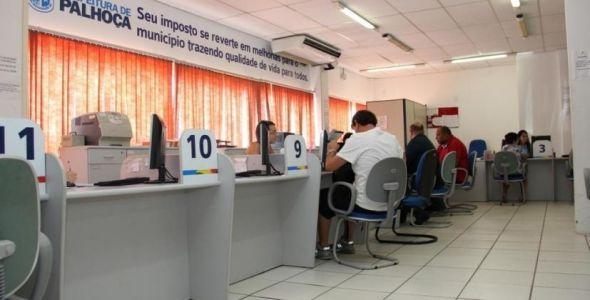 IPTU online tem adesão de contribuintes em Palhoça