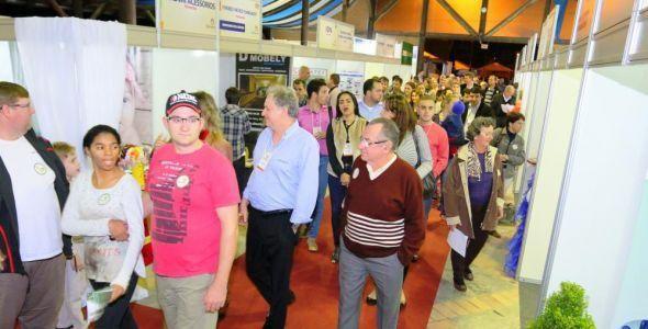 Feira recebe mais de nove mil visitantes em Pomerode