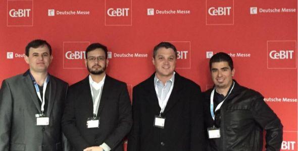 Equipe da OpenUX participa da CeBIT, na Alemanha