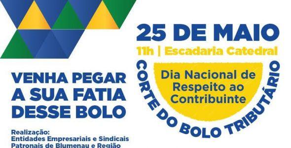 Bolo Tributário promove reflexão sobre voto consciente