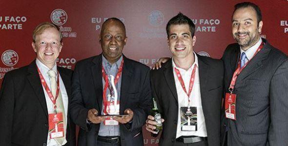 Fácil recebe prêmio para fornecedores da Coca-Cola Femsa