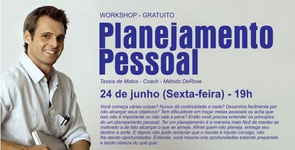 Coach realiza workshop sobre planejamento pessoal