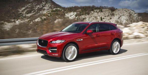 Top Car Blumenau realiza o pr�-lan�amento do novo Jaguar F-Pace