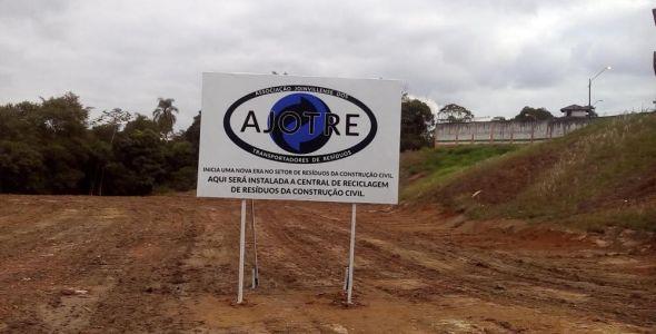 Joinville ganha central de reciclagem para res�duos de obras