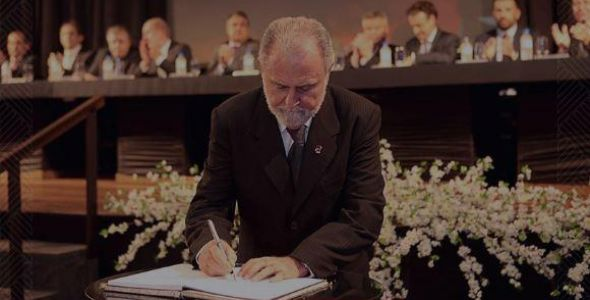 Moacir Thomazi volta � presid�ncia da Acij, em Joinville