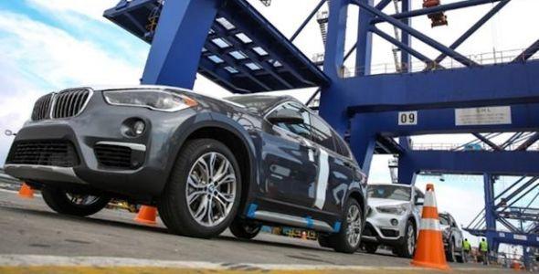 F�brica da BMW de Arquari come�a a exportar para os Estados Unidos