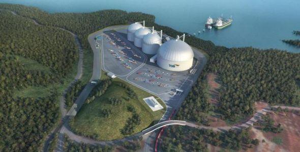 TBG ganha licen�a para instalar terminal em S�o Francisco do Sul