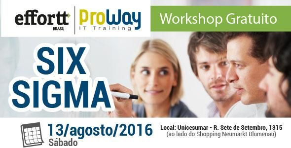 ProWay e Effort Brasil promovem Workshop Gratuito de Six Sigma
