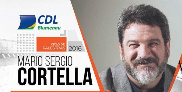 CDL Blumenau promove palestra com Mario S�rgio Cortella