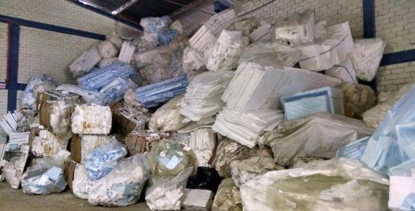 Termot�cnica firma parceria para reciclar isopor utilizado na Vila Ol�mpica