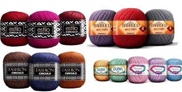 C�rculo S.A. lan�a tr�s novos fios para trabalhos em croch� e tric�