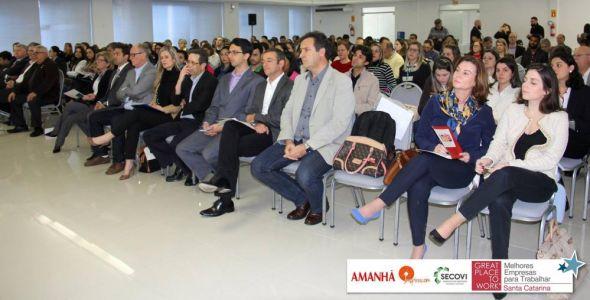 Workshop apresenta pr�ticas das Melhores Empresas para Trabalhar em SC
