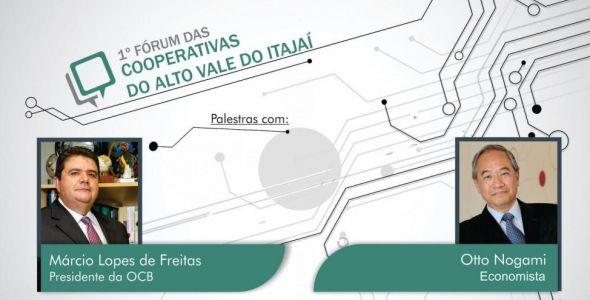 Rio do Sul sedia primeiro F�rum das Cooperativas do Alto Vale