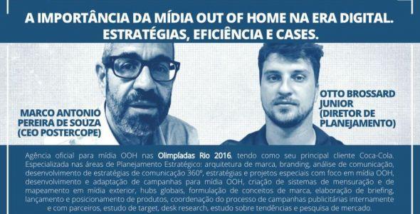 Especialistas abordam sobre m�dia Out of Home em Florian�polis