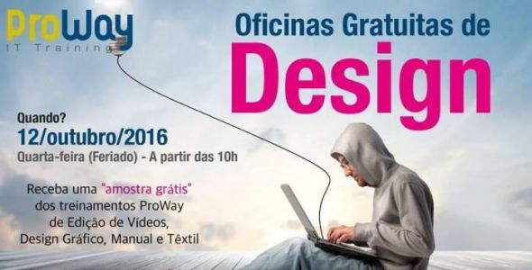 ProWay realiza oficinas gratuitas de design em Blumenau
