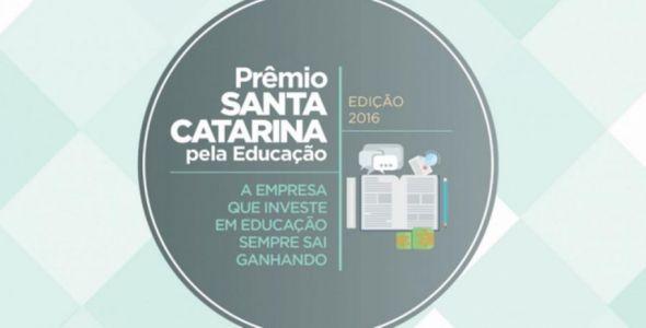 Fiesc anuncia as vencedoras do 2� Pr�mio Santa Catarina pela Educa��o