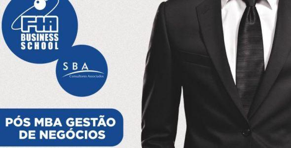 SBA e FIA promovem programa in�dito de P�s-MBA em Gest�o de Neg�cios