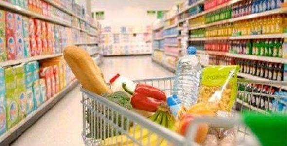 Vendas nos supermercados catarinenses caem 2,84% em agosto