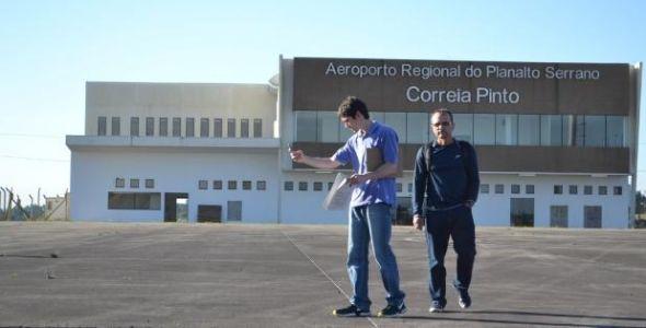 Licitação para concessão do aeroporto de Correia Pinto deve sair ainda em outubro