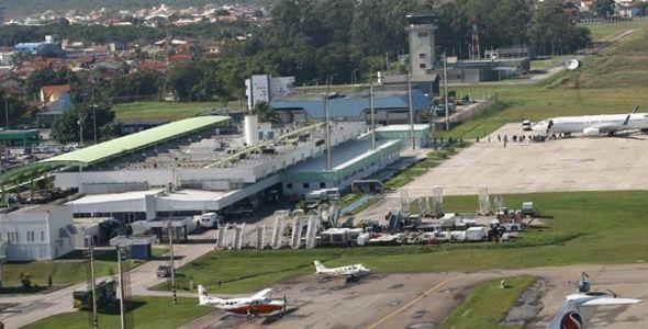 Fiesc defende instala��o imediata de fingers no aeroporto Herc�lio Luz
