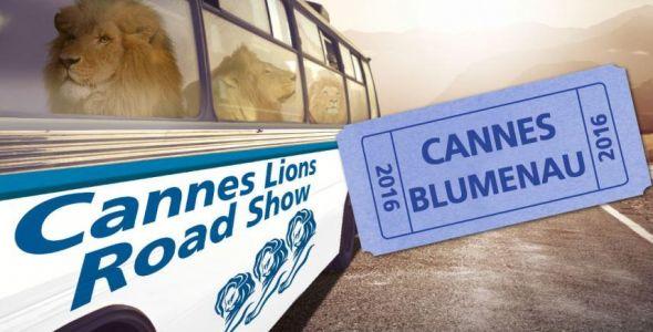 Blumenau recebe evento itinerante Cannes Lions Road Show