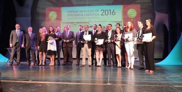 Infraero premia empresas que se destacaram em eficiência logística