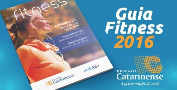Exit desenvolve edição 2016 do Guia Fitness da Drogaria Catarinense