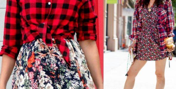 Cores quentes e mistura de estampas marcam a moda Primavera Verão 2017