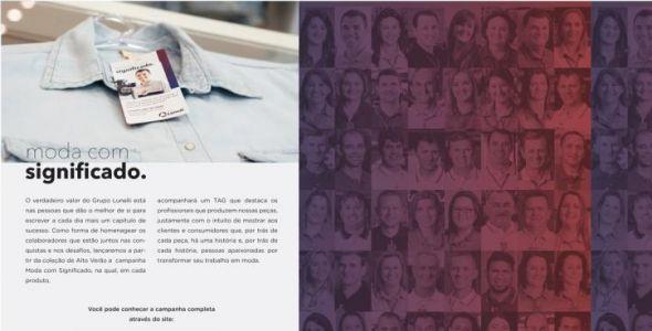 Grupo Lunelli lança campanha em comemoração aos 35 anos de atuação
