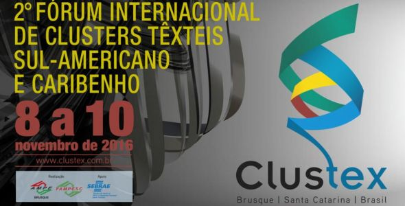 Brusque recebe segunda edição de fórum internacional do setor têxtil