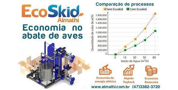 EcoSkid Almathi gera economia no processo de resfriamento de �gua