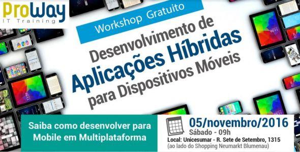 ProWay realiza workshop gratuito sobre aplica��es para dispositivos m�veis