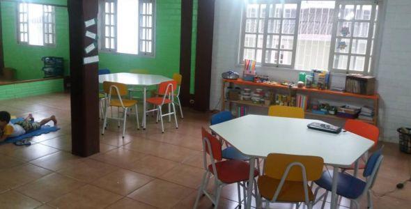 Saberativo oferece atividades de contra turno escolar em ambiente multifuncional