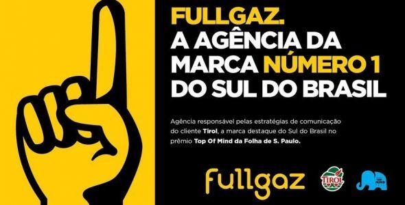 Fullgaz conquista Prêmio Top of Mind da Folha de São Paulo