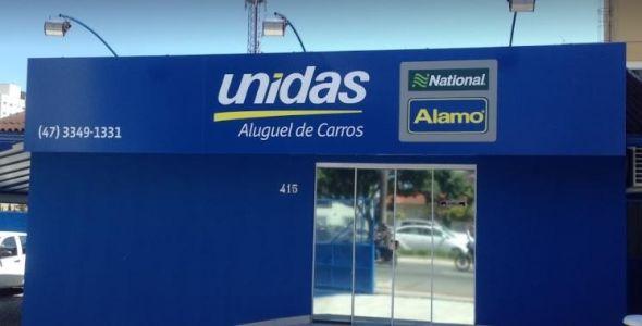 Unidas inaugura nova unidade Rent a Car em Itajaí