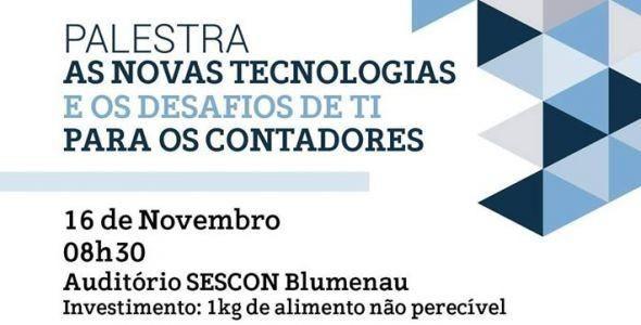 Sescon sedia palestra sobre novas tecnologias para contadores