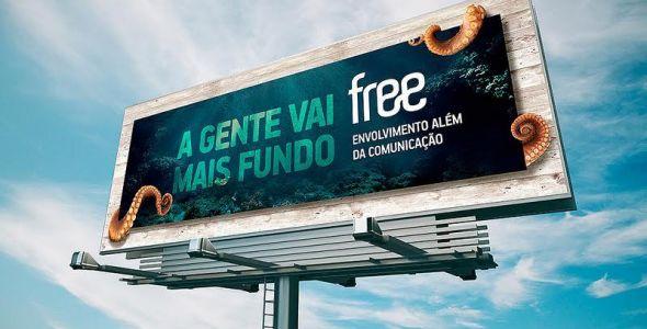 Free lança campanha com foco em envolvimento