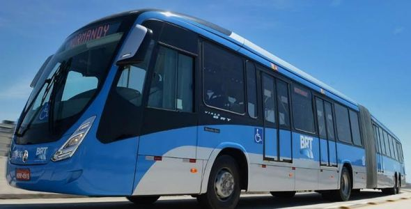 Mercedes-Benz Brasil lança nova versão para ônibus superarticulados