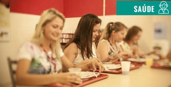 Alimentação balanceada melhora a produtividade do colaborador