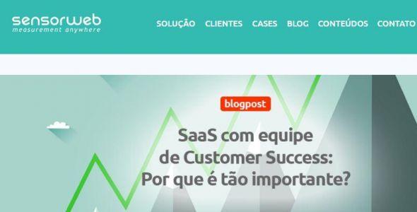 Sensorweb é eleita a melhor incubada do Brasil