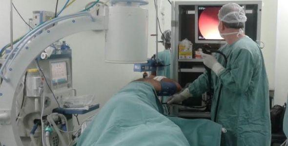 Procedimento inédito é realizado no Hospital Unimed de Criciúma