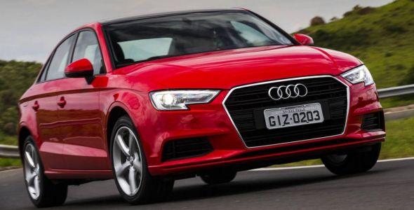 Audi A3 Sedan com facelift já está pronto para o Brasil