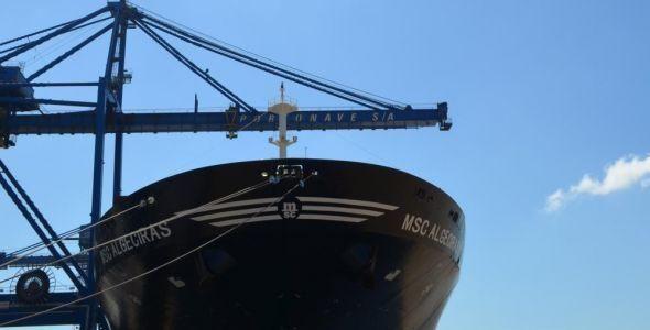 Movimentações de carga da Portonave crescem 34% em 2016