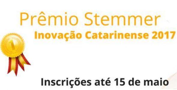 Estão abertas as inscrições para o Prêmio Stemmer Inovação Catarinense