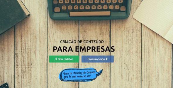 Catarinenses lançam site para produção de conteúdo