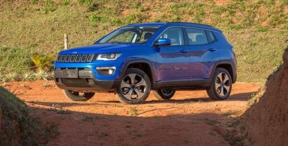Jeep Compass cresce nas vendas e encosta no líder Honda HR-V em janeiro