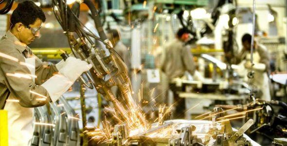 Produção industrial em Santa Catarina cresce acima da média