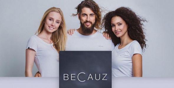 Startup de moda Becauz doa metade dos lucros a projetos de evolução humana