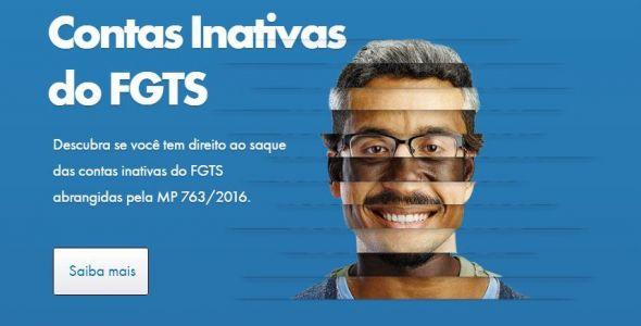 Catarinenses têm mais de R$2 bilhões para sacar nas contas do FGTS inativo